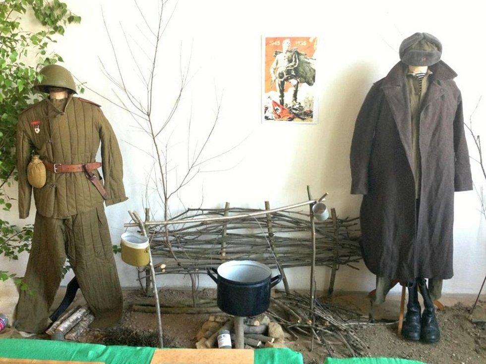 Výstava ke dni ukončení okupace a osvobození Luhačovic.