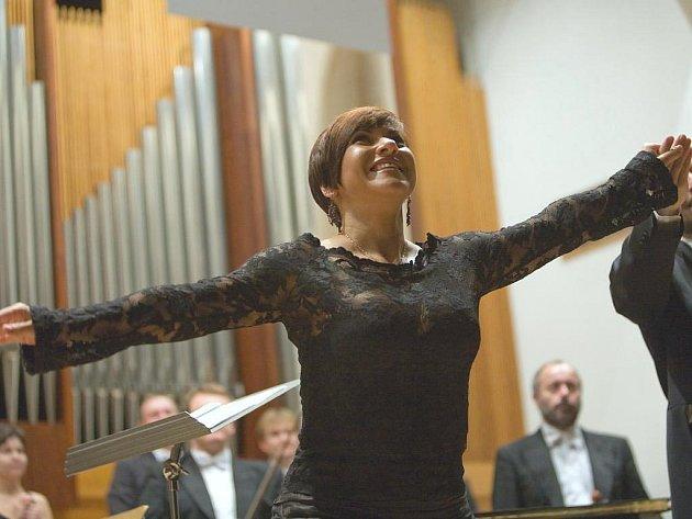 Operní pěvkyně Dagmar Pecková.