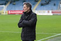 Fotbalisté Zlína (v bílých dresech) prohráli v 17. kole FORTUNA:LIGY na hřišti Slovanu Liberec 0:5.