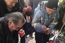 Dvaadvacáté výročí sametové revoluce si ve čtvrtek 17. listopadu připomněli obyvatelé Zlína.