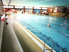 Bazén ve zlínských lázních