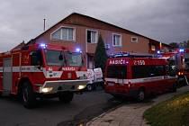 Požár restaurace  na ulici Tyršova v části Zlín – Malenovice.