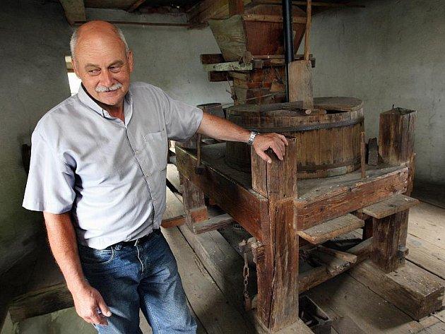 Větrný mlýn ve Zlíně Štípě