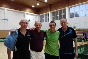 Turnaj ve stolním tenise ve Slavičíně 2019