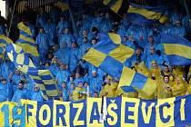 Fotbalisty Zlína v důležitém ligovém zápase s Příbramí podpoří fanoušci z kotle.