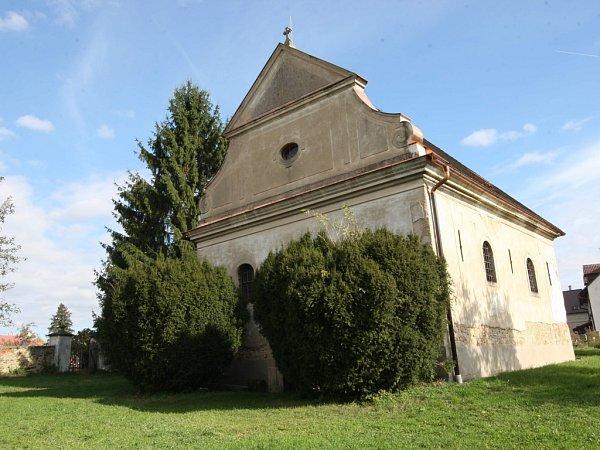 Starý poutní kostel ve Štípě