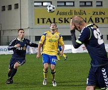 Fotbal Tescoma Zlín. Ilustrační foto.