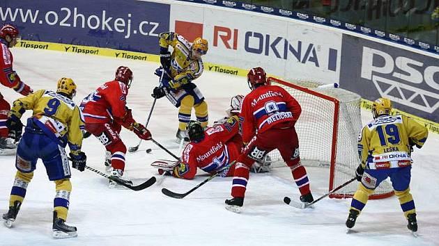 Hokej Zlín - České Budějovice