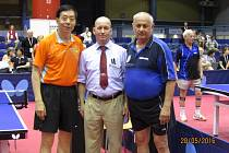 Jaroslav Kučera s Číňanem Wang Shi Qinem