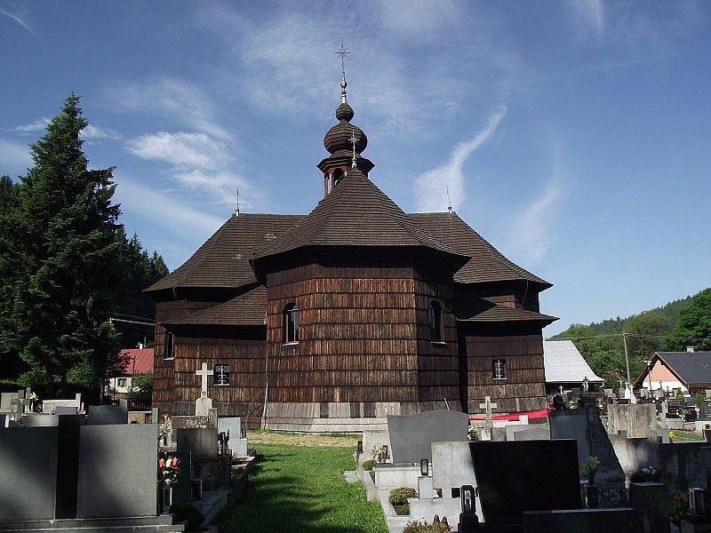 Kostel Panny Marie Sněžné.