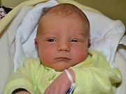 Daniel Smetana z Vizovic se narodil 20.2.2012 s mírou 49 cm a váhou 3390 g