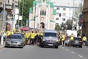 Fanoušci Opavy v Olomouci na finále českého poháru
