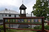 Sehradice leží v údolí Horní Olšavy, 7 km od Luhačovic z části v CHKO Bílé Karpaty. Snímek z 2. července 2021.