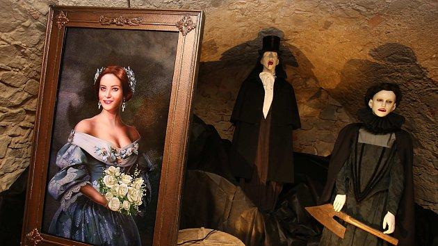 Výstava Strašidelné sklepení zlínského zámku ve Zlíně