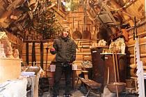 Vánoce dorazily také do mladičkého držkovského Muzea dřevěného porculánu.