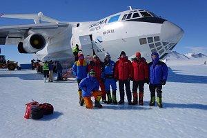Josef Polaštík společně s dalšími šesti horolezci zdolal slavný Mount Vinson