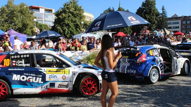 Barum Czech Rally Zlín. Ilustrační foto