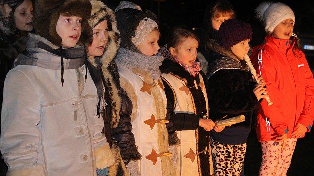 Předvánoční akce v Neubuzi - zpívání koled a výstava betlémů