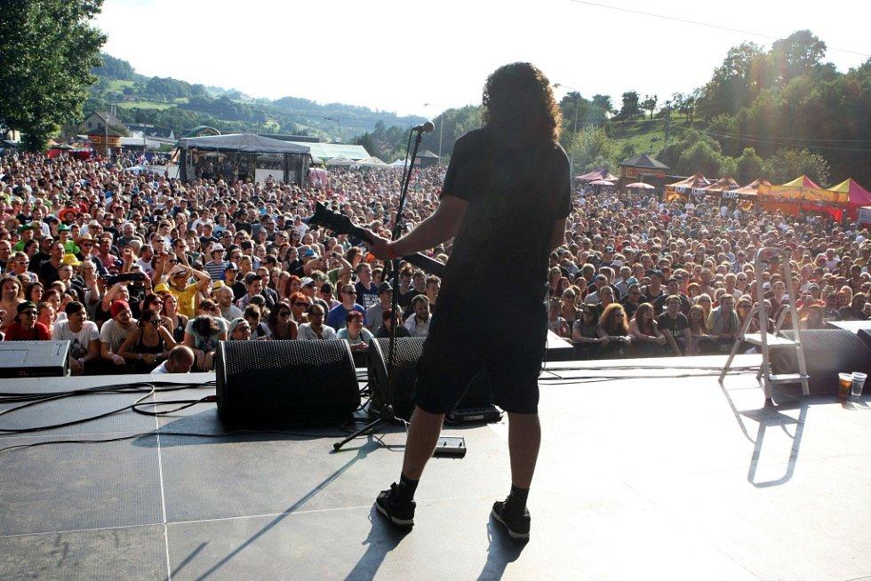 Festival Trnkobraní 2016 ve Vizovicích. Horkýže slíže