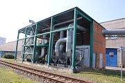 Den otevřených dveří v Continental Barum - Rekuperační stanice technického benzínu. Je největší v ČR. Ročně vyrobí 27 tun benzínu.