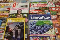 Časopisy.