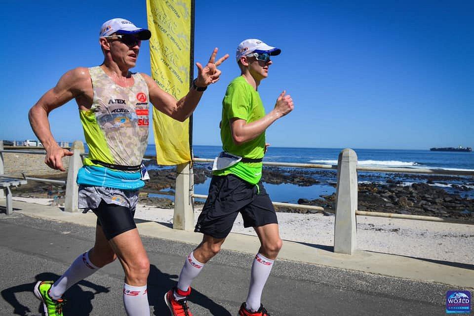 Petr Vabroušek a Filip Vabroušek World Marathon Challenge 2019