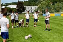 Fotbalisté Zlína B zahájili v pondělí letní přípravu.