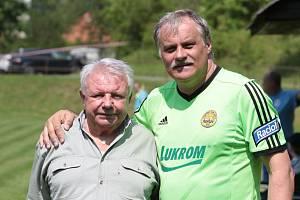 Starou gardu Zlína povede společně s Petrem Uličným jeho kamarád a bývalý parťák Miroslav Polášek (vlevo).