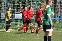 Fotbalový krajský přebor žen Babice - Brumov