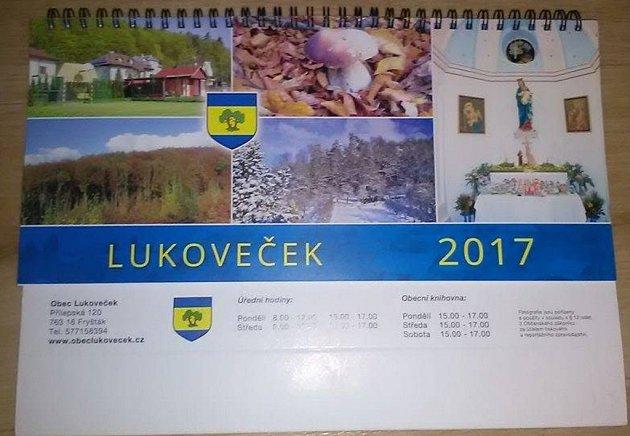 Kalendář Lukovečku