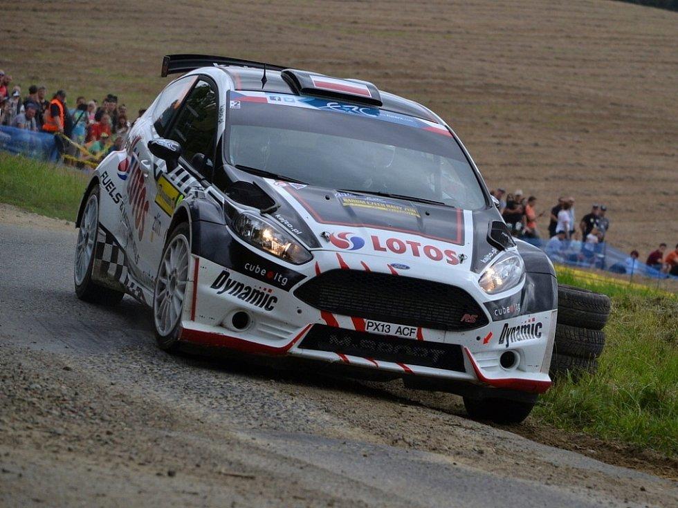 Barum Czech Rally Zlín: RZ 13 Zádveřice