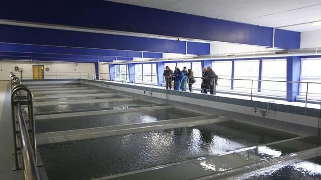 Den otevřených dveří v úpravně vody v Klečůvce.