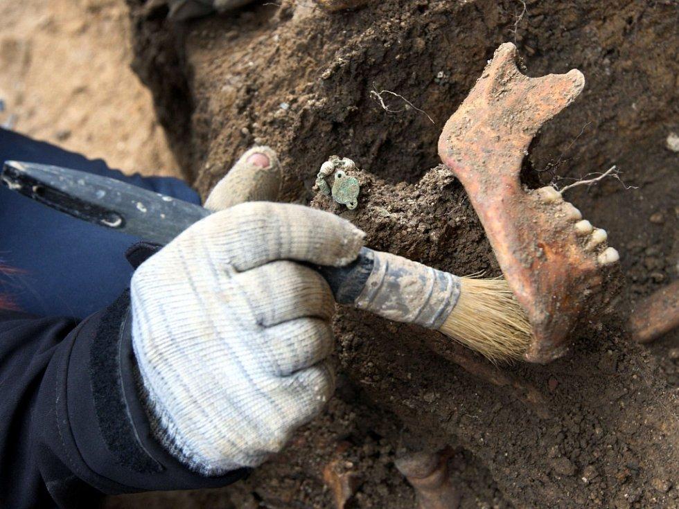 Archeologický výzkum ve Štípě.