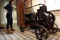 Stálá expozice Historie firmy Slávia v muzeu Napajedlích.