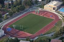 Atletický stadion Mládeže ve Zlíně.