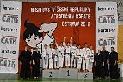 Zlínští karatisté vybojovali na MČR 33 medailí, z toho sedm titulů