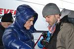 Mikuláš Zaremba Rally ve Slušovicích - Tomáš Kostka (vlevo), Lukáš Langmajet