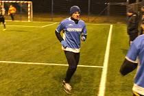 Zimní liga v malém fotbale ve Fryštáku Benfika - Poskládání