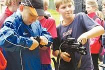 Den dětí s policií a IZS ve Slušovicích