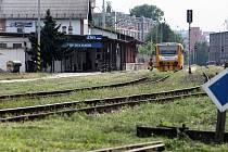 Vlakové nádraží ve Zlíně