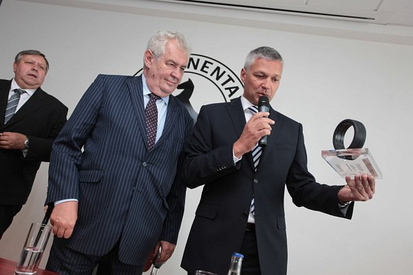 Návštěva prezidenta Miloše Zemana vOtrokovicích