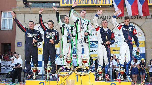 Barum Czech Rally Zlín 2016. Vítězové