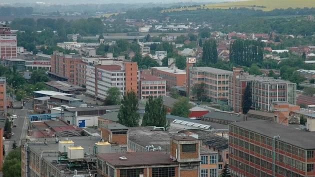Svitovský areál ve Zlíně