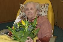 Anežka Baťová oslavila 100. narozeniny.