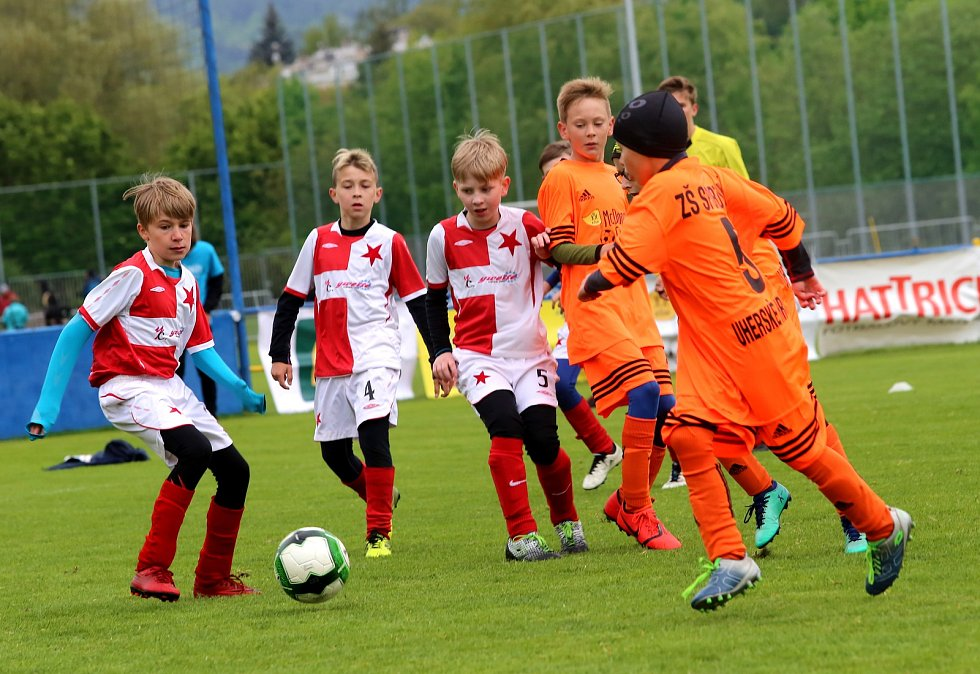 Fotbal Turnaj McDonald's Cup 2019 Krajské Finále Zlín. Kroměříž-Uherské Hradiště