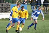Fotbal Lužkovice B (modří) - Lutonina