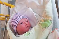 VOJTĚCH MINÁŘ, narozen ve Zlíně 5.8.2019 v 9:42, 3510 g a 49 cm, bydlí ve Zlíně