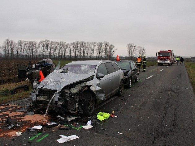 Smrtelná dopravní nehoda u Rymic.