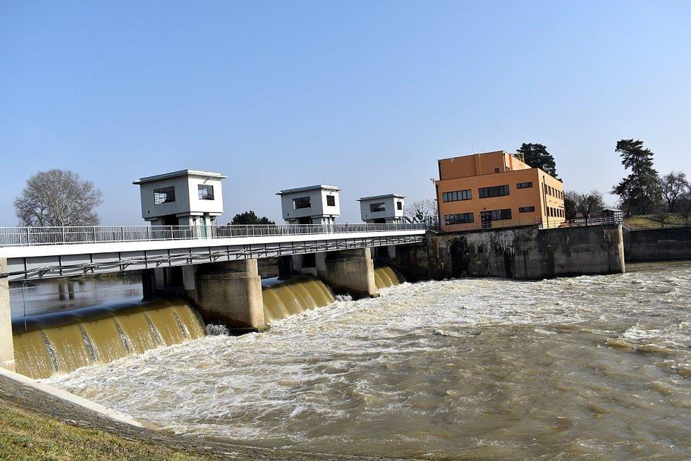 Vodní elektrárna Spytihněv vloni zvýšila výrobu o pětinu, bez kouře a komínů