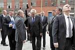 Návštěva prezidenta Miloše Zemana ve Zlíně.